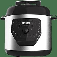 Robot de cocina -  Cecotec GM Modelo H, Programable 24 Horas, 6L, Tapa abatible, 19 modos, Inox