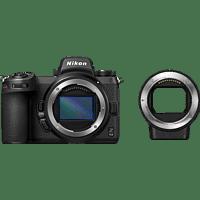 NIKON Z 6II Body + FTZ Adapter Systemkamera, 8 cm Display Touchscreen, WLAN