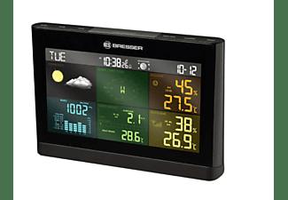 Estación meteorológica - Bresser 5 En 1 Comfort 7002550CM3000, Mide la temperatura y la humedad, Negro