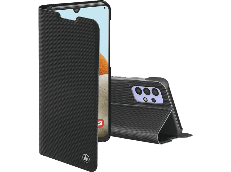 HAMA Slim Pro, Bookcover, Samsung, Galaxy A32 (4G), Schwarz
