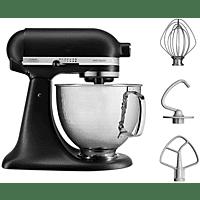 KITCHEN AID 4.8l Küchenmaschine 5KSM156HMEBM Artisan Matt Schwarz & Hammered Bowl