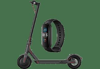 XIAOMI Trottinette électrique Mi Electric Scooter 1S + Activity Tracker Band 5