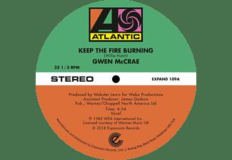 Gwen McCrae - Keep The Fire Burning/Funky Sensation (Extended)  - (Vinyl)
