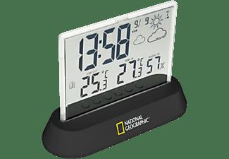 Estación meteorológica - Bresser National Geographic Translucidus, Reloj DCF, 1 Sensor, Transparente