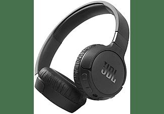 Auriculares inalámbricos - JBL Tune 660NC, Con Diadema, 44 h, Bluetooth 5.0, Micrófono, USB Tipo-C, Negro
