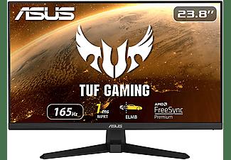"Monitor gaming - Asus TUF Gaming VG249Q1A, 23.8"" FHD, IPS, 1 ms, 165 Hz, FreeSync™ Premium, Negro"