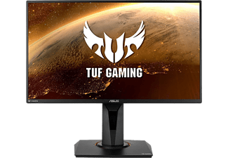 "Monitor gaming - ASUS TUF Gaming VG259QR, 24.5"" FHD, IPS, 1 ms, 165 Hz, Nvidia G-Sync®, Low Blue Light, Negro"