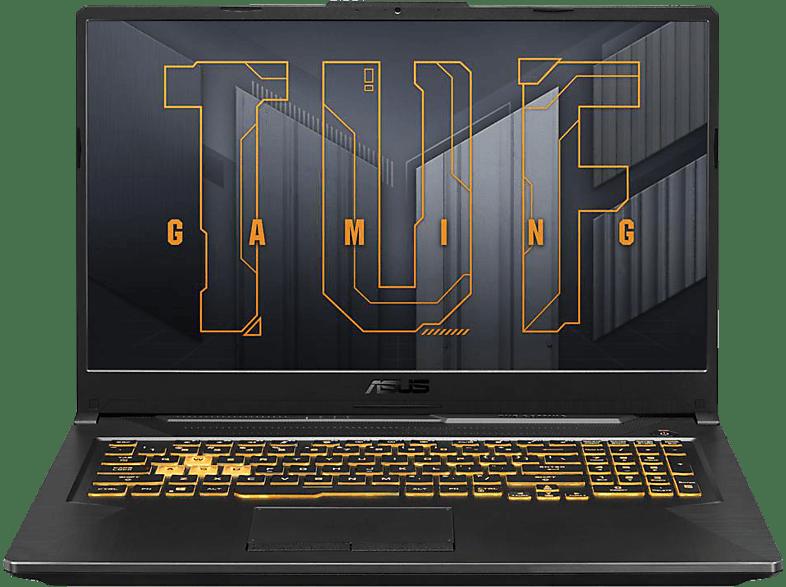 ASUS FX706HC-HX007T, Gaming Notebook mit 17 Zoll Display, Intel® Core™ i5 Prozessor, 16 GB RAM, 512 SSD, NVIDIA GeForce RTX 3050, Eclipse Grey