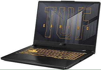 ASUS TUF Gaming F17 (FX706HC-HX007T), Gaming Notebook mit 17 Zoll Display, Intel® Core™ i5 Prozessor, 16 GB RAM, 512 GB SSD, GeForce RTX 3050, Eclipse Grey