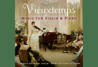 Amdriani,Carmelo/Camicia,Pierluigi - VIEUXTEMPS: MUSIC FOR VIOLIN And PIANO  - (CD)