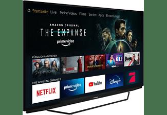 GRUNDIG 55 GUB 7140 FIRE TV EDITION LED TV (Flat, 55 Zoll / 139 cm, HDR 4K, SMART TV, Fire-TV  Experience)