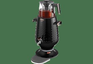 ARZUM AR3083-B  Ehlikeyf Teekocher, Samowar (2200 Watt , Schwarz)