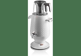 ARZUM AR3083-W Ehlikeyf Teekocher, Samowar (2200 Watt , Weiß)