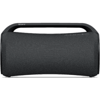 Altavoz inalámbrico - Sony SRSXG500B, Bluetooth, 30h de autonomía, Resistente al agua, Micrófono, Negro