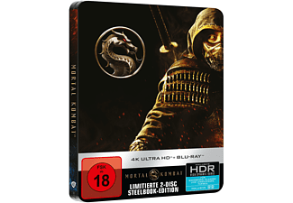 Mortal Kombat (Steelbook) 4K Ultra HD Blu-ray + Blu-ray