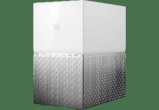 Nube personal - WD My Cloud Home Duo, 4TB (2x2TB), Copias de Seguridad Automáticas, Para Windows y Mac, Blanco