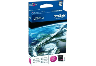 Cartucho de tinta - Brother LC985BKBP, hasta 300 páginas, inyección de tinta, color negro