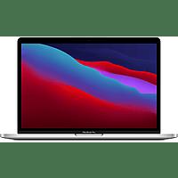APPLE MacBook Pro 13 Zoll, M1 Chip 8-Core und 8-Core GPU, 8GB RAM, 512GB SSD, Silber (MYDC2D/A)