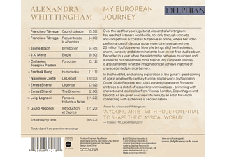 Alexandra Whittingham - My European Journey  - (CD)