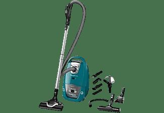 Aspirador con bolsa - Rowenta RO7762EA, 450 W, 64 dB, 4.5 L, Tubo metálico, Verde