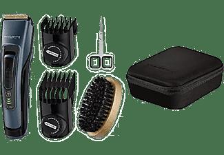 Barbero - Rowenta TN4500F0, 120 min autonomía, 44 longitudes, Kit barba Larga, Negro y Azul