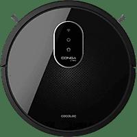 Robot aspirador - Cecotec Conga 1790 Titanium, Wi-Fi, Programable, 160 min, Accesorios incluidos, Negro