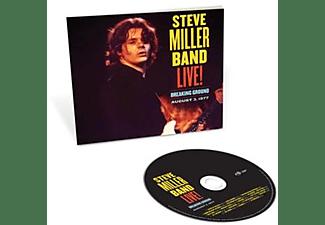 Steve Miller Band - Live! Breaking Ground August 3,1977  - (CD)