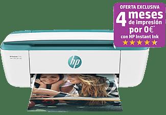 Impresora multifunción - HP DeskJet 3762, Color, 19 ppm, WiFi, USB, Compatible con HP Instant Ink