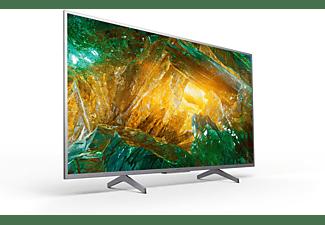 "TV LED 43"" - Sony KD43XH8077, UHD 4K, HDR, X1, SmartTV (AndroidTV), Asistente de Google, Triluminos, Plata"