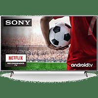 "TV LED 55"" - Sony KD55XH8077SAEP, UHD 4K, HDR, X1, SmartTV (AndroidTV), Asistente de Google, Triluminos, Plata"