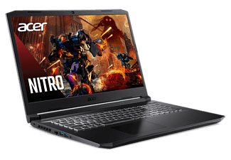 "Portátil gaming - Acer Nitro 5 AN517-52, 17.3"" FHD, Intel® Core™ i7-10750H, 16GB RAM, 1TB SSD, RTX™ 3060, FDOS"