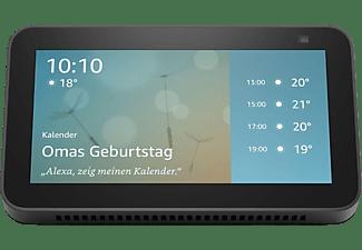 AMAZON Echo Show 5 (2. Generation) Smart Display mit 2 MP Kamera Smart Speaker, Anthrazit