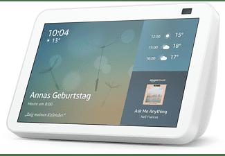 AMAZON Echo Show 8 (2. Generation) HD-Smart Display mit 13 MP Kamera Smart Speaker, Weiß