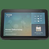 AMAZON Echo Show 8 (2. Generation) HD-Smart Display mit 13 MP Kamera Smart Speaker, Anthrazit