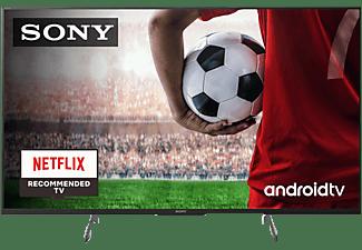 "TV LED 49"" - Sony KD49XH8596BAEP, UHD 4K, HDR, X1, SmartTV (AndroidTV), Asistente de Google, Triluminos, Negro"