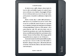 "eReader - Kobo Libra H2O, 7"" HD, 8 GB, Comfortlight PRO, IPX8, Botones laterales, Negro"