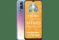 "Móvil - Vivo Y72 5G, Azul, 128 GB, 8 GB RAM, 6.58"" Full HD+, Dimensity 700, 5000 mAh, Android 11"