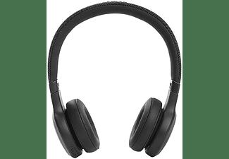 Auriculares inalámbricos - JBL Live 460NC, Con diadema, Supraaurales, 50 h, Bluetooth, ANC, Negro
