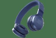 Auriculares inalámbricos - JBL Live 460NC, Con diadema, Supraaurales, 50 h, Bluetooth, ANC, Azul