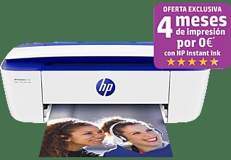 Impresora multifunción - HP DeskJet 3760, Color, 15 ppm, WiFi, Compatible con HP Instant Ink