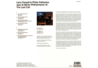 Larry -& Philip Catherine- Coryell - The Last Call - Jazz At Berlin Philharmonic XI  - (Vinyl)