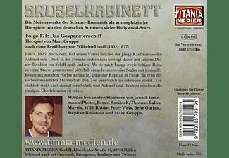 Gruselkabinett - 171/Das Gespensterschiff  - (CD)