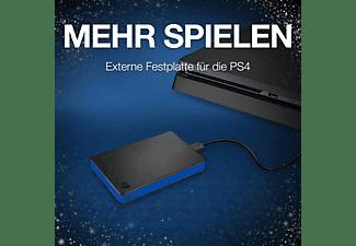 SEAGATE Gamedrive für Playstation 4 (STGD2000200) , Festplatte, Schwarz