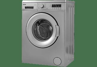 Lavadora carga frontal - Koenic KWM 6113 D, 6 kg, 1000 rpm, 15 programas, Sistema Eco Logic, Motor AC, Gris