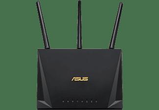 Router WiFi - Asus RT-AC2400, 2400 Mbps, Gigabit, Puerto USB 3.1, MU-MIMO, Control Parental, Negro