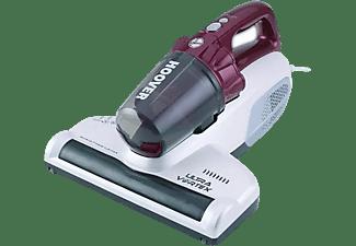 Aspirador de mano - Hoover MBC 500 UV Ultra Vortex, 500W, Ciclónico, 3 modos de limpieza, Rojo