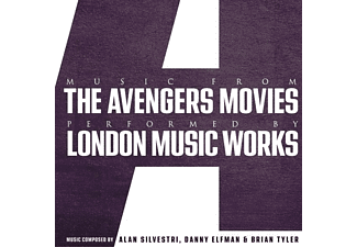 London Music Works - Music From The Avengers Movies (Purple Repress) [Vinyl]