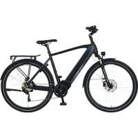 PROPHETE ENTDECKER 20.ETT.20 Trekkingrad (Laufradgröße: 28 Zoll, Herren-Rad, 576 Wh, Schwarz Matt)