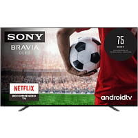 """TV OLED 55"""" - Sony KE55A8BAEP, UHD4K, X1 Ultimate, Acoustic Surface Audio, Smart Tv(Android TV), HDR, Negro"""