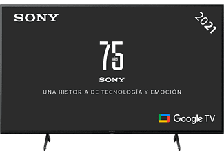 "TV LED 50"" - Sony KD50X81JAEP, UHD 4K, HDR, Smart Tv (Google Tv), X1, Triluminos, Control por voz, Negro"
